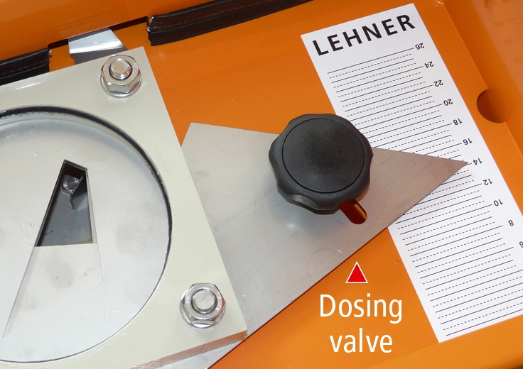 Manual dosing