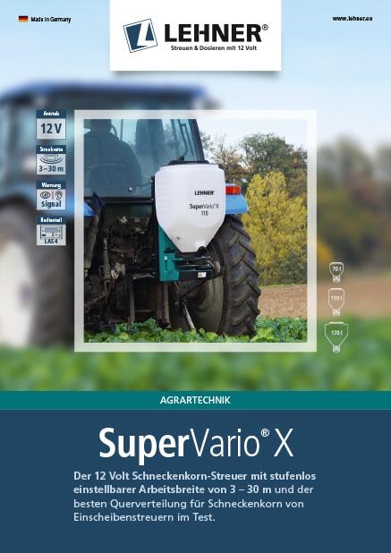 SuperVario X Prospekt