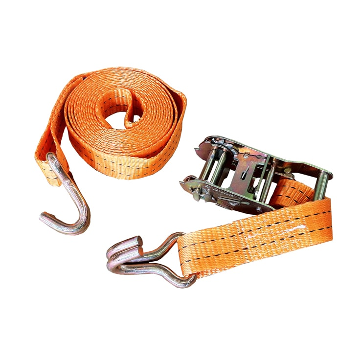 3 m lashing strap with ratchet/hook